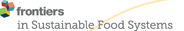 Logo de Frontiers in sustainable food systems