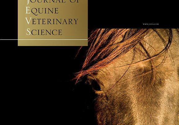 Image du site du Journal of Equine Veterinary Science