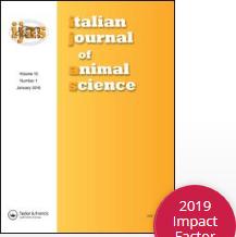 Logo de l'Italian journal of animal science
