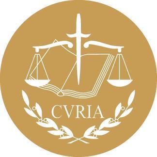 Logo de la Cour de justice de l'Union européenne