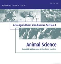 Logo d'Acta Agriculturae Scandinavica, Section A - Animal Science