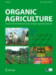 Logo du journal Organic Agriculture