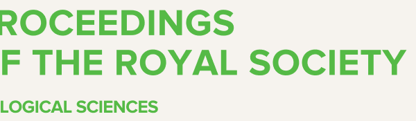 Logo des Proceedings of the Royla Society B