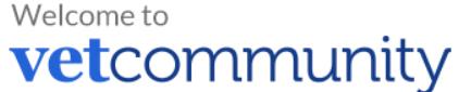 Logo de VetCommunity