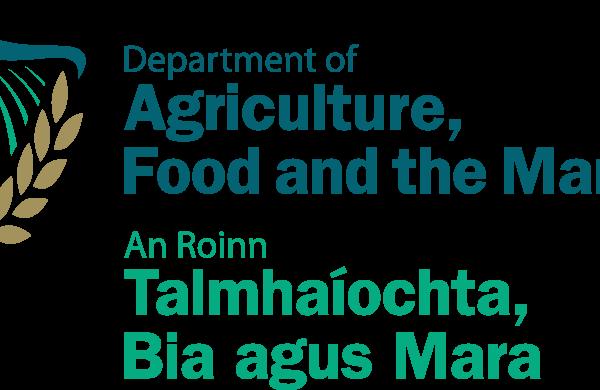 Logo u ministère de l'agriculture, de l'alimentation et de la pêche irlandais