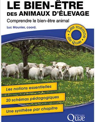 Couverture du livre Le bien-être des animaux d'élevage