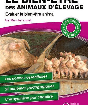Couverture du livre Le bien-être des animaux d'élevage-Evaluer le bien-être animal