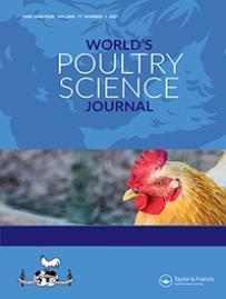 Couverture du World's Poultry Science Journal
