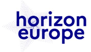 Logo d'Horizon Europe